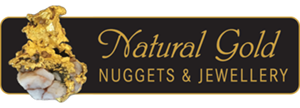 Natural Gold Nuggets & Jewellery Logo